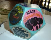 1960s Ecological Protest Paperweight, Anti Oil and Pollution