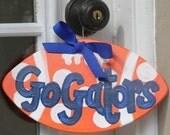 Gators University of Florida Football Door Decor or Tailgate Invitation