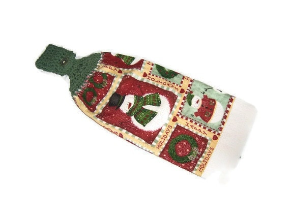 PIF - Holiday Kitchen Towel - Primitive Country style