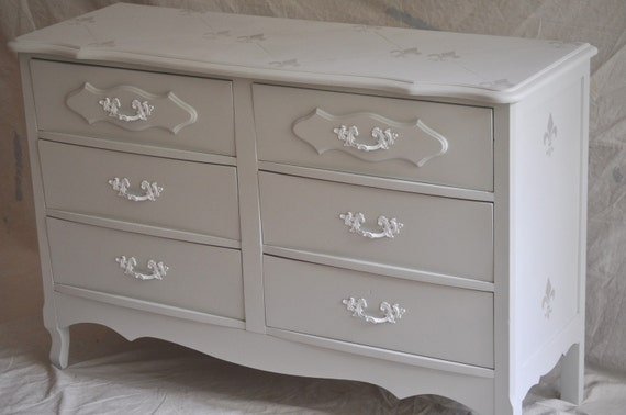 Reserved for Abbey: Remaining balance on Small Provencial Dresser / Credenza / Chest of Drawers Balance Remaining