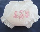 Classic Monogrammed Bloomers
