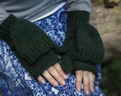 30% OFF Convertible Mittens - nova scotia forest