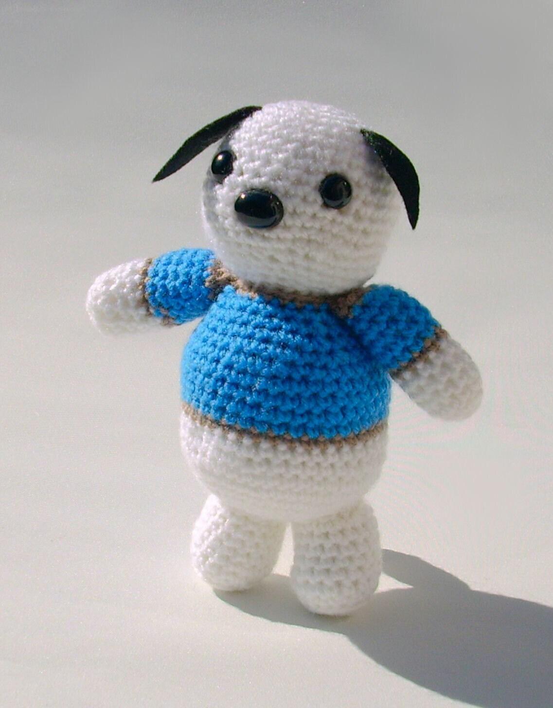 Items similar to Crochet dog amigurumi plushie amigurumi ...