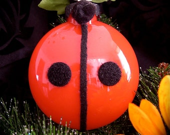 Lady Bug Ornament