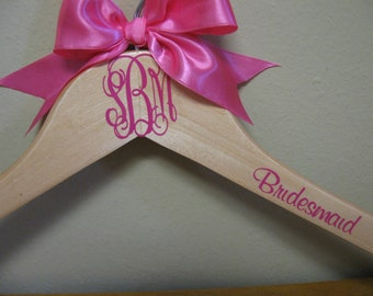 Reserved Listing for Judie...Personalized Monogram Hangers