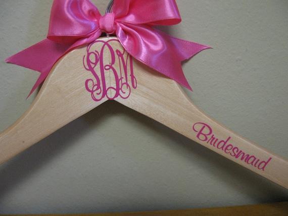 Personalized Monogram Hanger