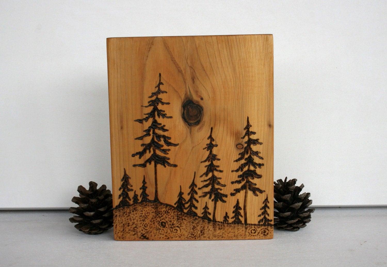 Wood Burning Art Tree The Image Kid Has It
