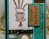 Handmade Card - Greeting Card - Happy Birthday - Stampin Up OOAK
