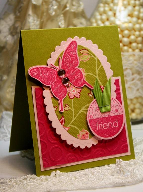 Handmade Card - Greeting Card - Friend - Stampin Up