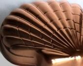 Vintage Copper Shell Jello/Cake/Ice Cream Bomb Mold