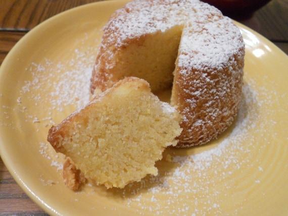 Lemon Almond Polenta Cake (gluten free)