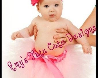 Baby's First Pink Tutu FREE SHIPPING