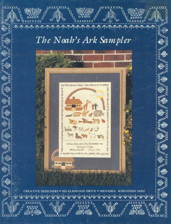 The Noah S Ark Sampler By Creative Designers Counted