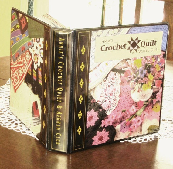 Annie S Crochet Quilt Amp Afghan Club Binder Full Of