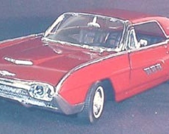 1/18 1963 Ford Thunderbird Hardtop Car vintage automobile - 2008