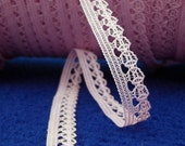"""15 yards Pink  Trim Lace,  3/8"""" or 1 cm wide"""