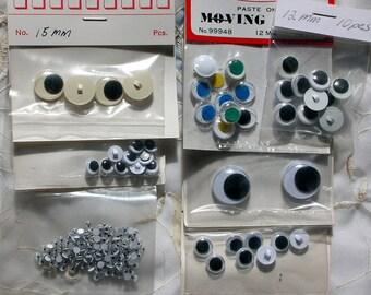 Wiggle Eyes 7 value packs of 188