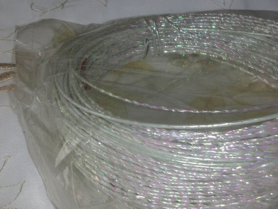 Opal White Wire Vintage Stock