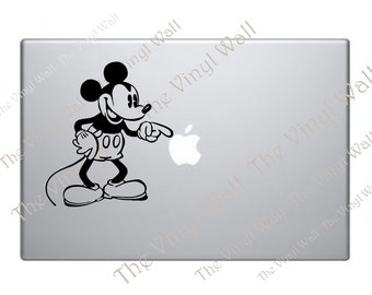Mickey Mouse - Vinyl Decal Sticker for all Apple MacBooks Mac Pro