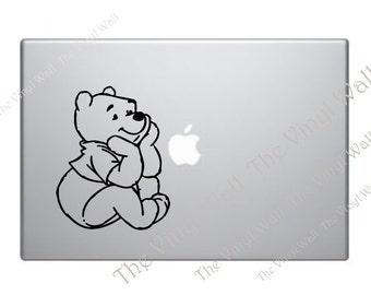 Pooh Bear - Vinyl Decal Sticker for computer wall car