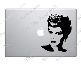 I Love Lucy Vinyl Decal Sticker for Computers Walls Car Apple MacBooks Mac Pro