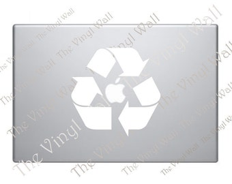 Recycle Symbol Vinyl Decal Sticker for all Apple MacBooks