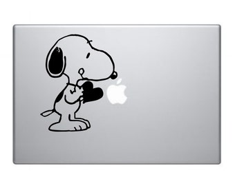 Snoopy Love Vinyl Decal Sticker for Car Wall Laptop Macbooks