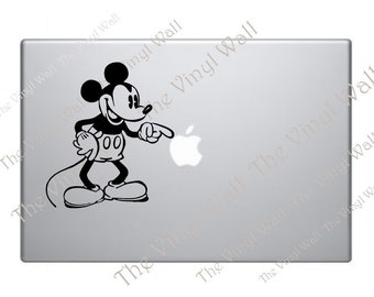 Mickey Mouse - Vinyl Decal Sticker for Laptop Car Wall