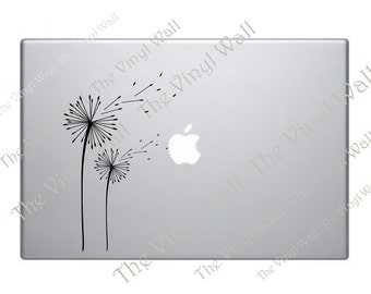 Beautiful Dandelions Blowing In The Wind Vinyl Decal Sticker Skin for Computer Laptop Notebook Wall Car