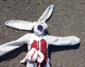 Roadkill Bunny Rabbit Halloween Costume Adult or Child's Custom Size