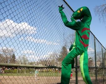 Velociraptor Dinosaur Halloween Costume Adult or Childs Custom Size
