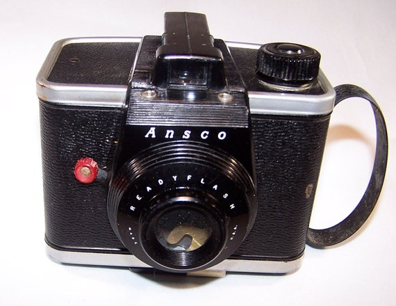 Ansco Readyflash Camera With Flash Made In 1950s