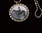 MEGA Sale Cowboy Bottle Cap Necklace (SB 014)