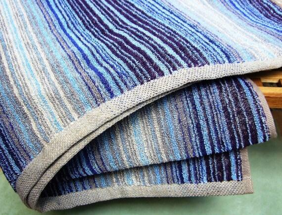 Linen Bath towel set -Tides- massage linen, linen towel,