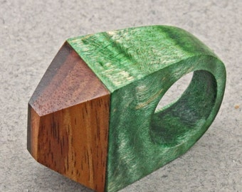 Wood House Ring