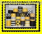 33 Yard BUMBLEBEE ULTIMATE Collection grosgrain ribbon