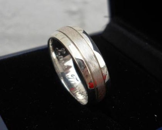Mens ring without engraving for Jasmine