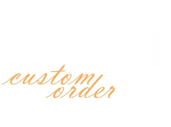 Custom necklace for Em.
