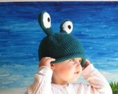 Eye Think Someone's Watching You Hat SIZES 6mo, 1-5T, or Youth