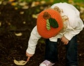 It's the Great Pumpkin Charlie Brown Hat SIZES 6mo, 1-3T/5T or Youth