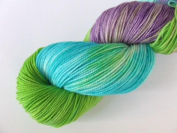 Enchantress on Wallop- Hand Dyed Sock Yarn