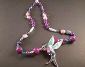 Caliope Hummingbird Necklace