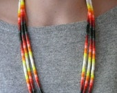 Lava, Colorful Layering Necklace