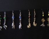 Wizarding House Earrings: pick your house