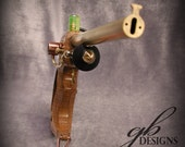 Steampunk costume prop pistol by Geahk Burchill of gb Designs