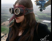 Skeeter Air-Pirate Neo-Victorian, steampunk costume goggles