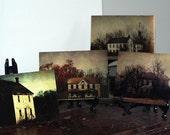 Rustic Farmhouse collection rustic landscape photography Farm Skeleton Series Postcards- home decor farmhouse 5x7