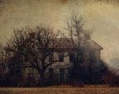 "landscape photography surreal photograph home office decor farmhouse photo chocolate brown an decor 16x24 wall art print ""Hometown Appetite"