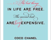 The Very Best Things - Chanel - Card