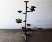 RESERVED Cast Iron Victorian Plant Stand